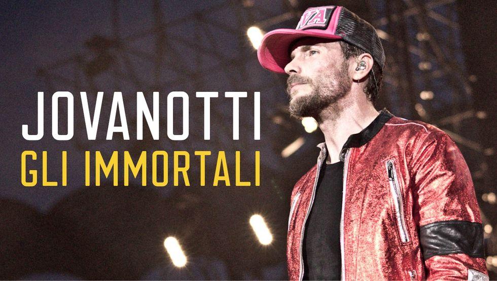"""Jovanotti: """"Gli immortali Tour"""" diventa un filmino"""