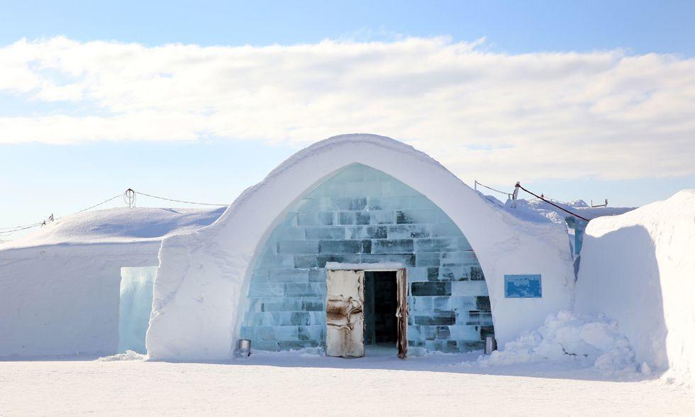 Hotel di ghiaccio in Svezia