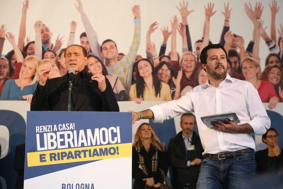 Lega a Bologna, cortei di protesta e tensioni - Foto