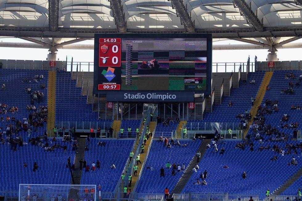 Serie A, fuga dagli stadi: solo il 55% dei posti occupati