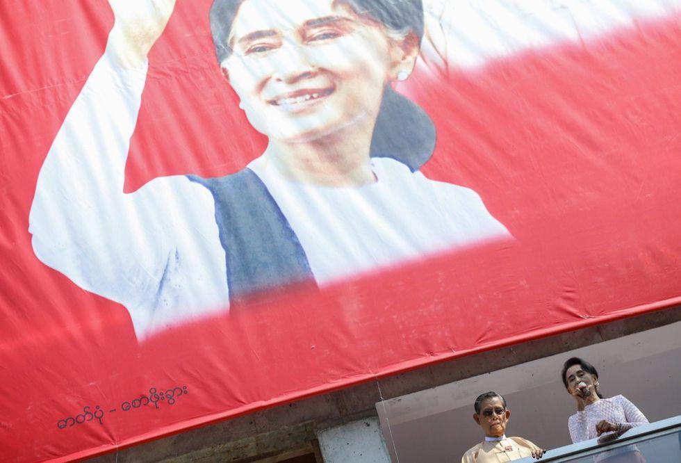 birmania Aung San Suu Kyi