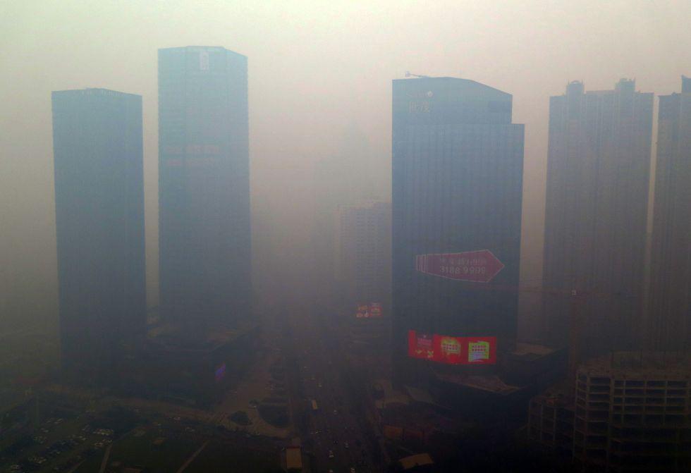 Cina: smog a livelli mai registrati nel mondo