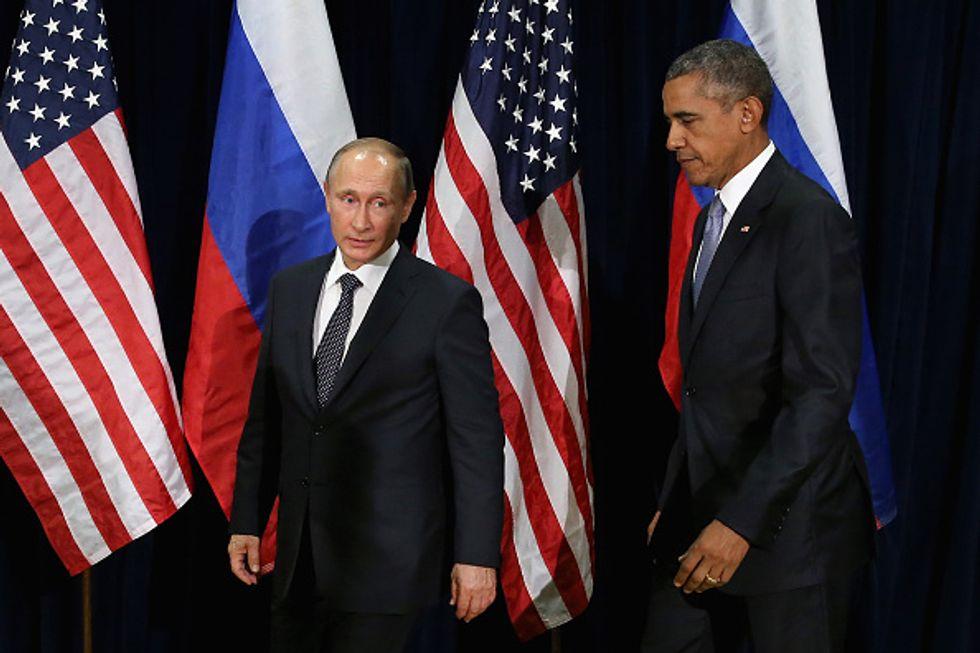 Valdimir Putin e Barack Obama