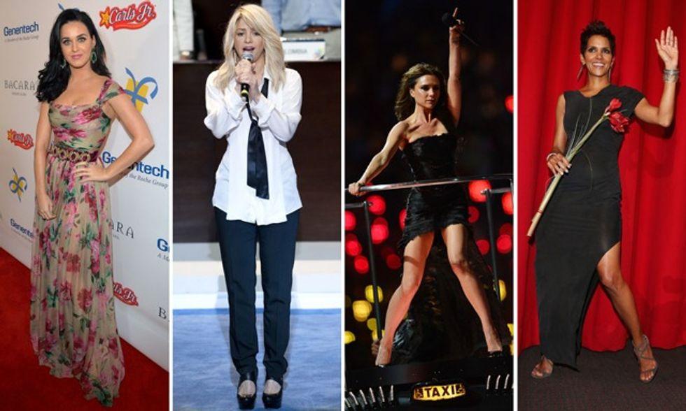 Shakira con il pancione su Twitter, mentre Halle Berry fugge dagli Usa