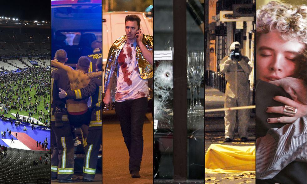 Gli attacchi ISIS a Parigi