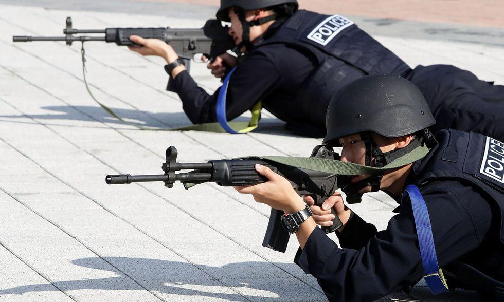 Polizia sudcoreana