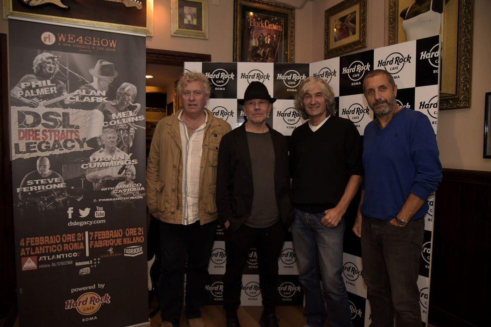 I Dire Straits Legacy live a Roma e Milano – Le dichiarazioni