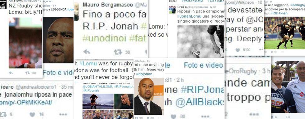 Il mondo del rugby piange Jonah Lomu, il cordoglio dei colleghi