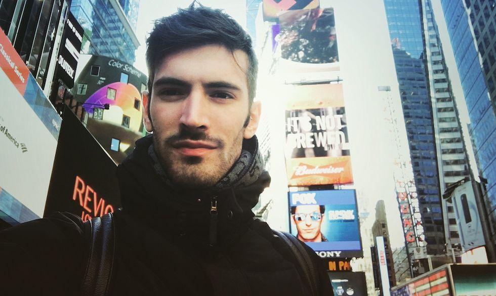 Giovanni Caccamo a New York