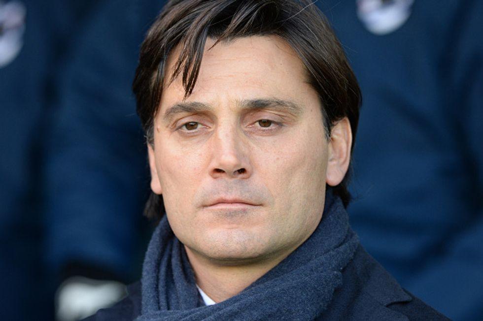 """Montella, debutto al Milan: """"Abbiamo fretta, obiettivo Europa"""""""