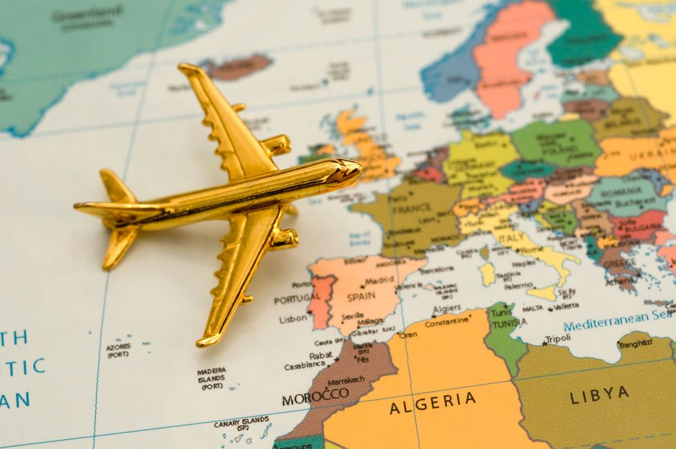 """Il """"folle"""" viaggio in Europa: 10 Paesi in 30 giorni"""