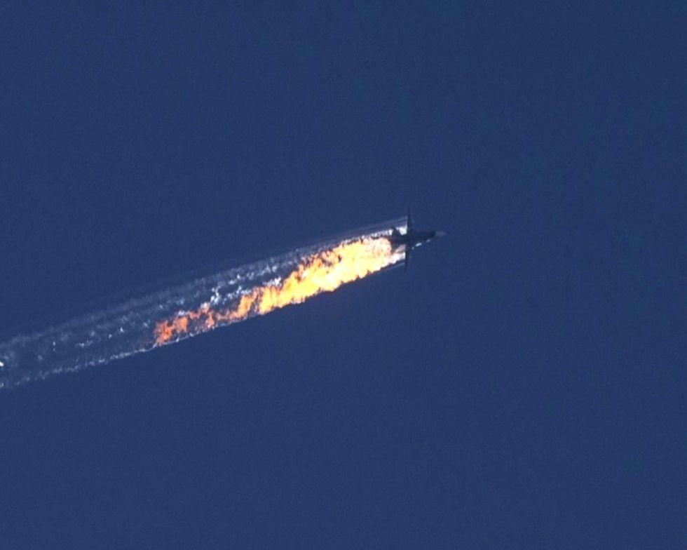 bombardiere russo turchia