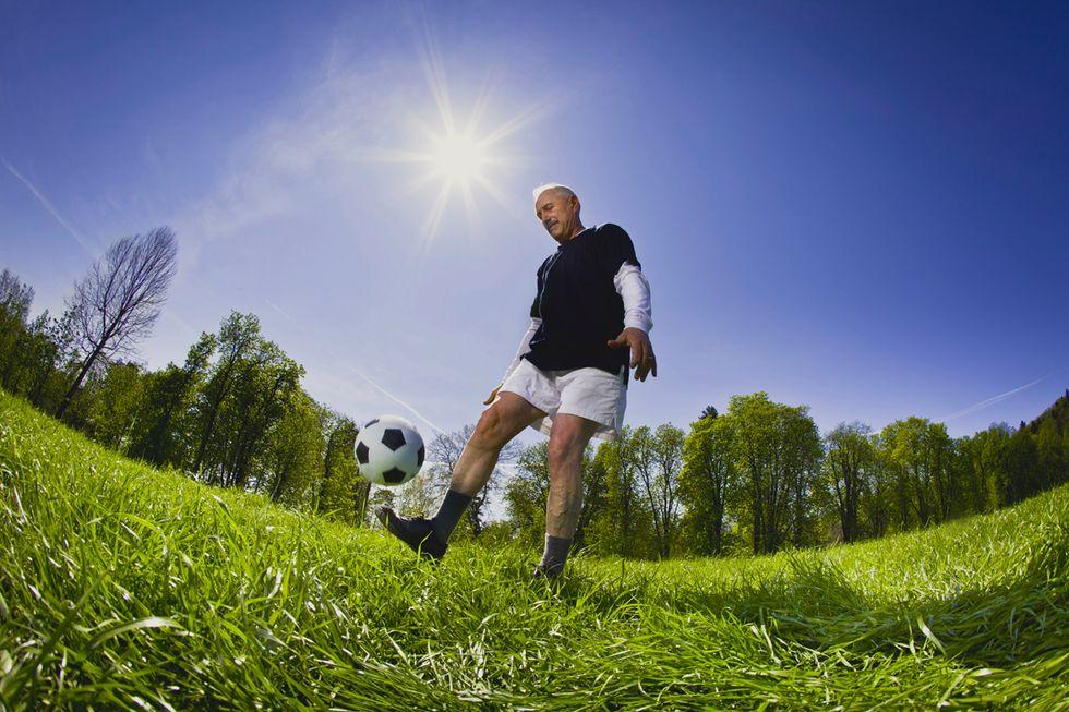 Walking football, il calcio senza età