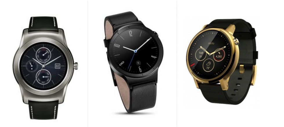 android wear huawei lg moto 360