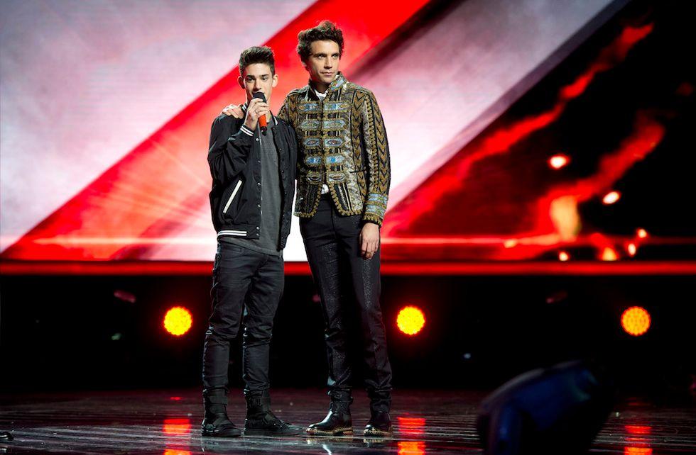 X Factor 9 Luca Valenti e Mika