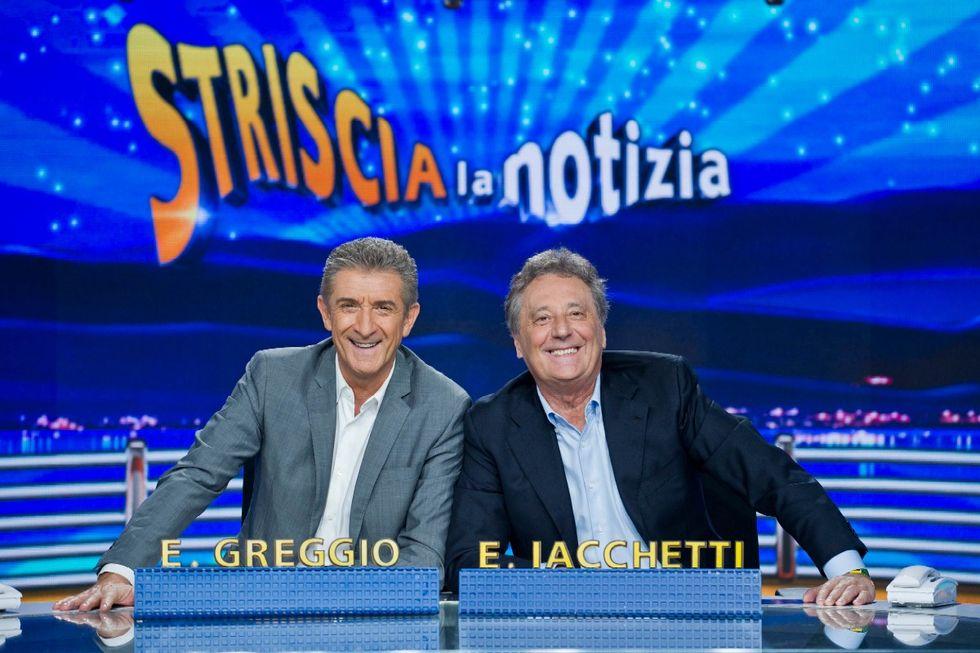 Striscia la Notizia 2015 Ezio Greggio e Enzo Iacchetti
