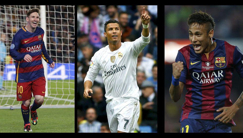 Messi, Ronaldo, Neymar: i numeri per il Pallone d'Oro