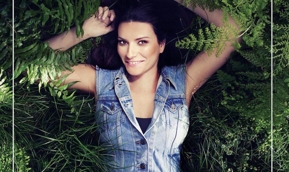 """Un particolare della copertina di """"Simili"""" di Laura Pausini"""