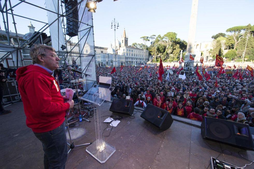 """Landini contro il """"bonus Marchionne"""" ai dipendenti Fiat"""