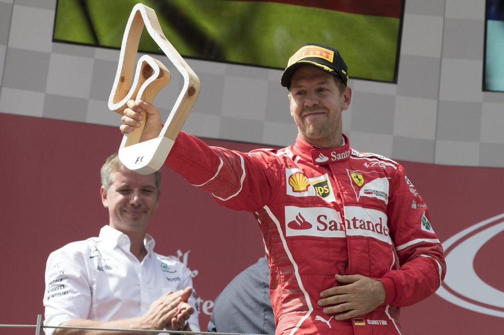 Ferrari Mondiale F1 2017 Gp Austria Vettel Raikkonen