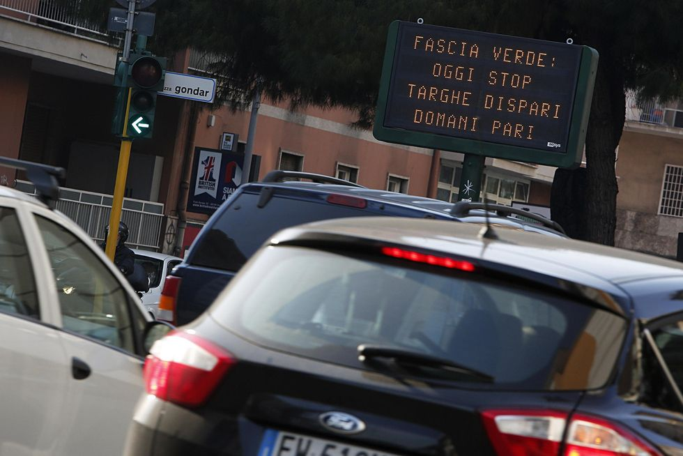 Roma: traffico in tilt sciopero