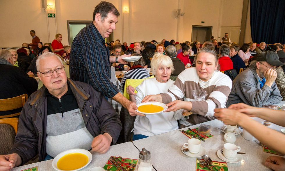 Banco alimentare-Rana: grande iniziativa di Natale