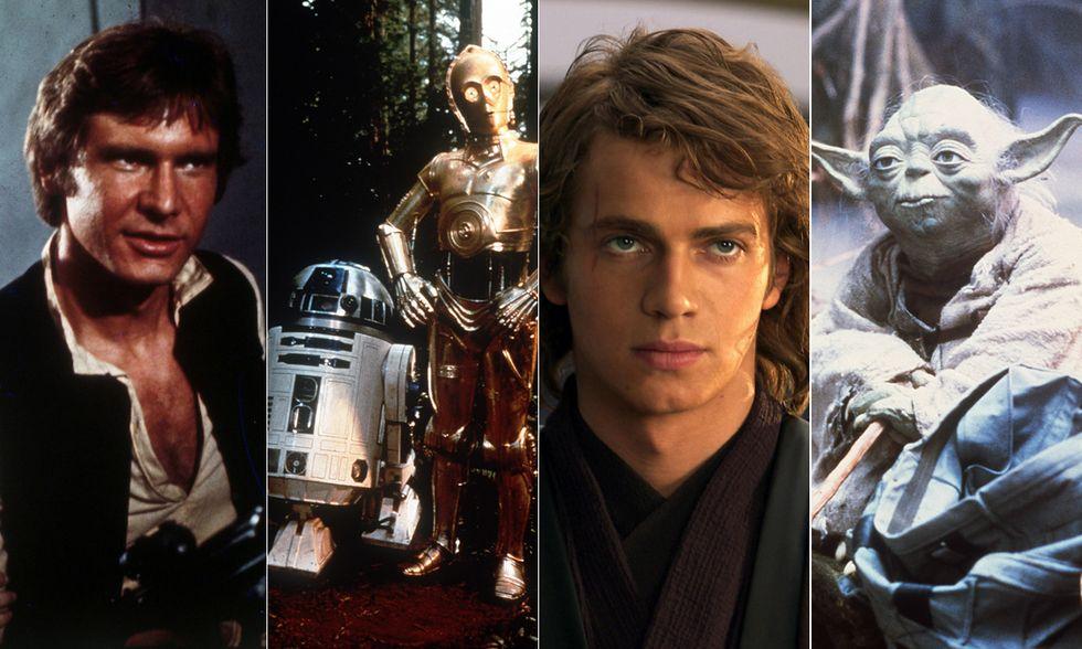 Star Wars, da Anakin a Yoda: vota il tuo personaggio preferito