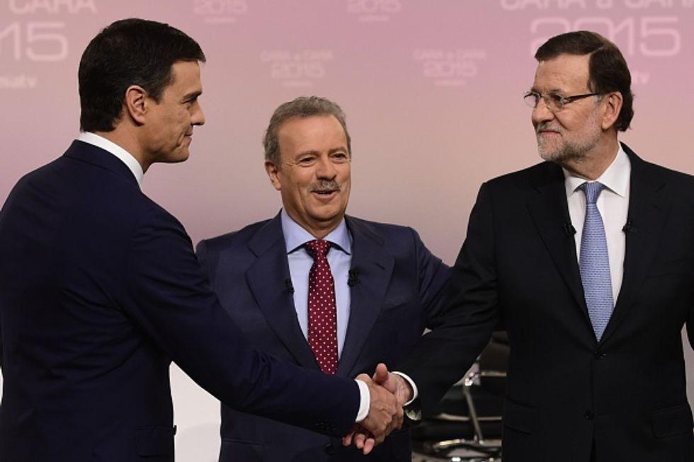 Elezioni in Spagna: Sanchez e Rajoy, botte catodiche all'ultimo voto