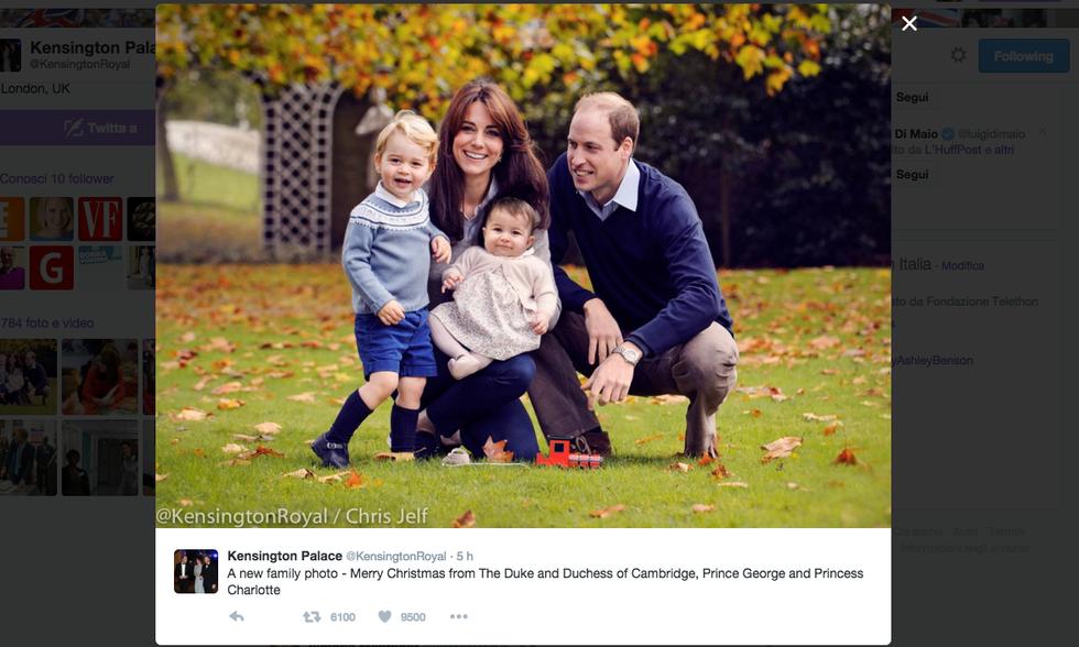Royal Family di Natale