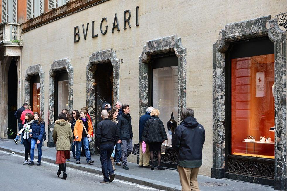 Bulgari celebrating its 130th anniversary in Rome