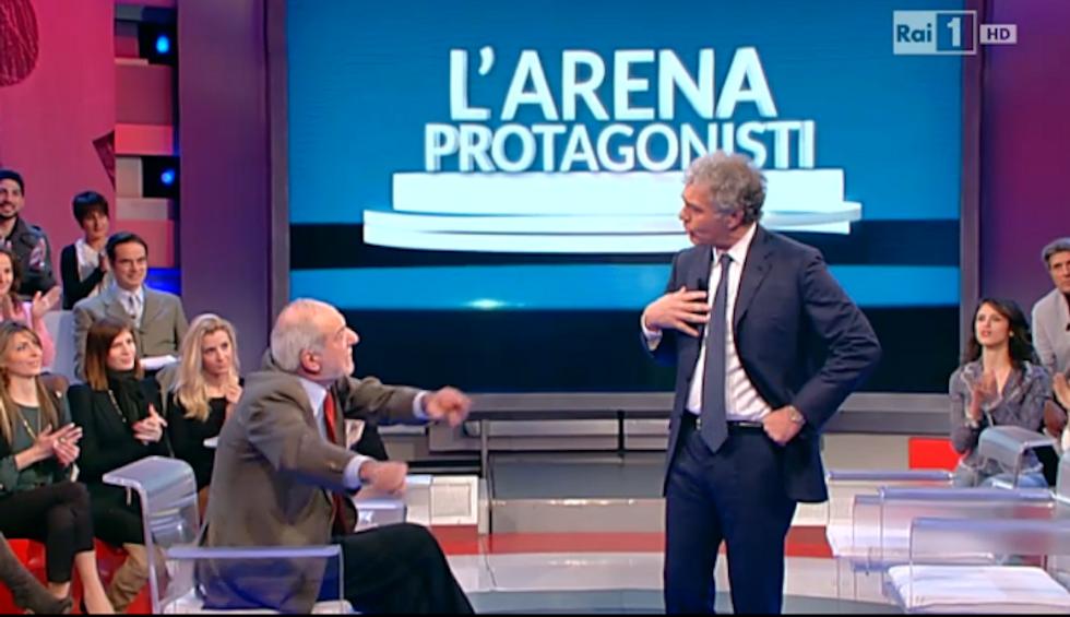 Massimo Giletti Mario Capanna