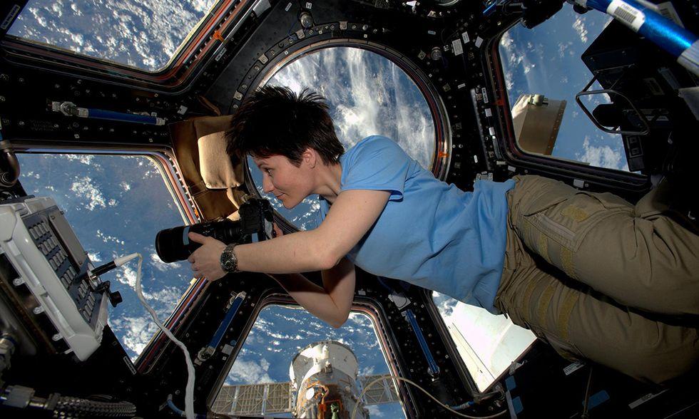Sam Cristoforetti sulla Stazione Spaziale Internazionale