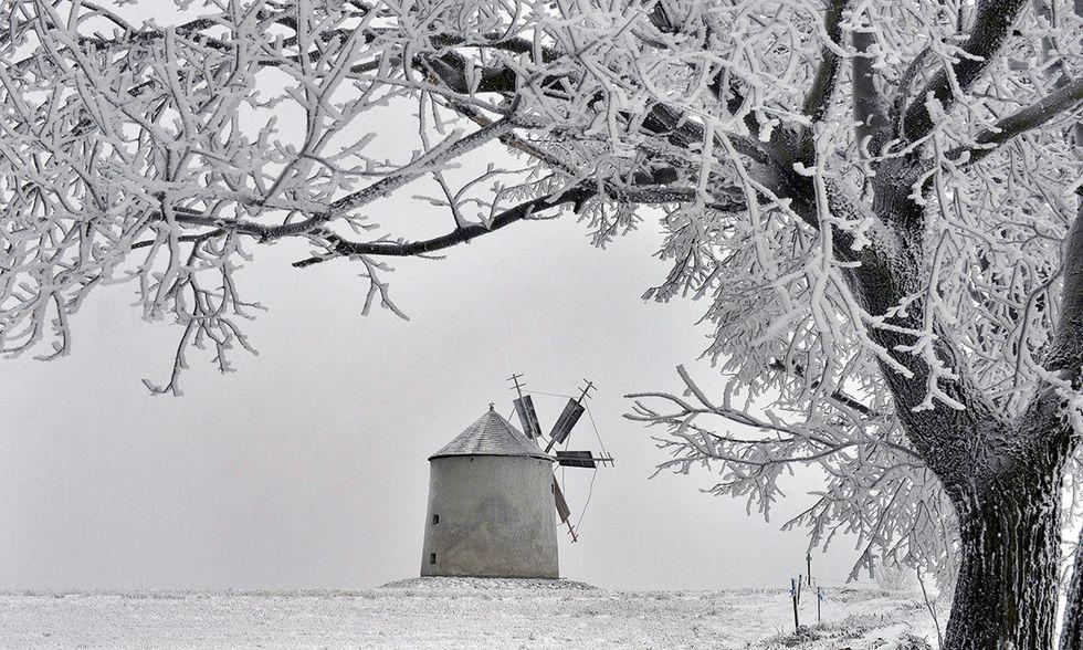 La neve in Ungheria