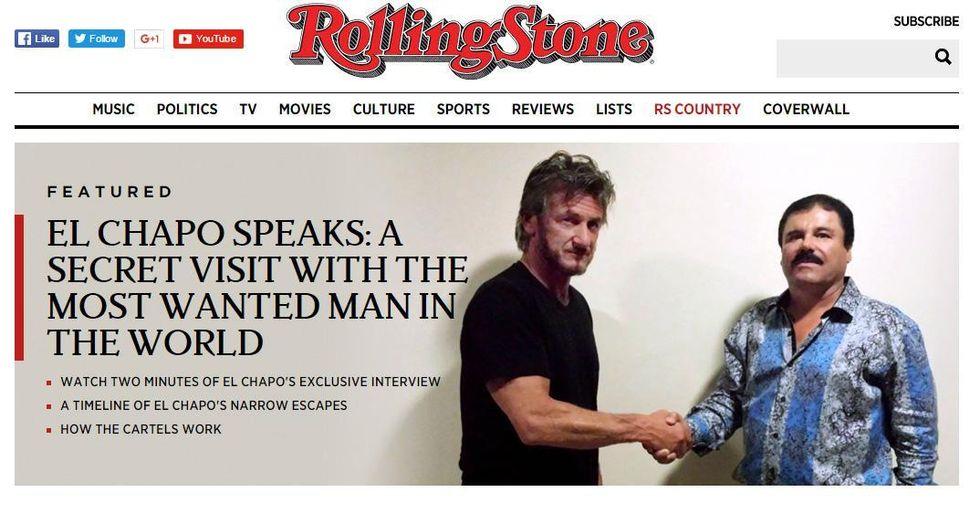 Sean Penn indagato per l'incontro con il superlatitante El Chapo - Video