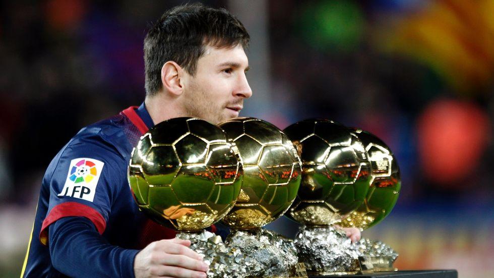 Lionel Messi ha vinto il suo quinto pallone d'oro