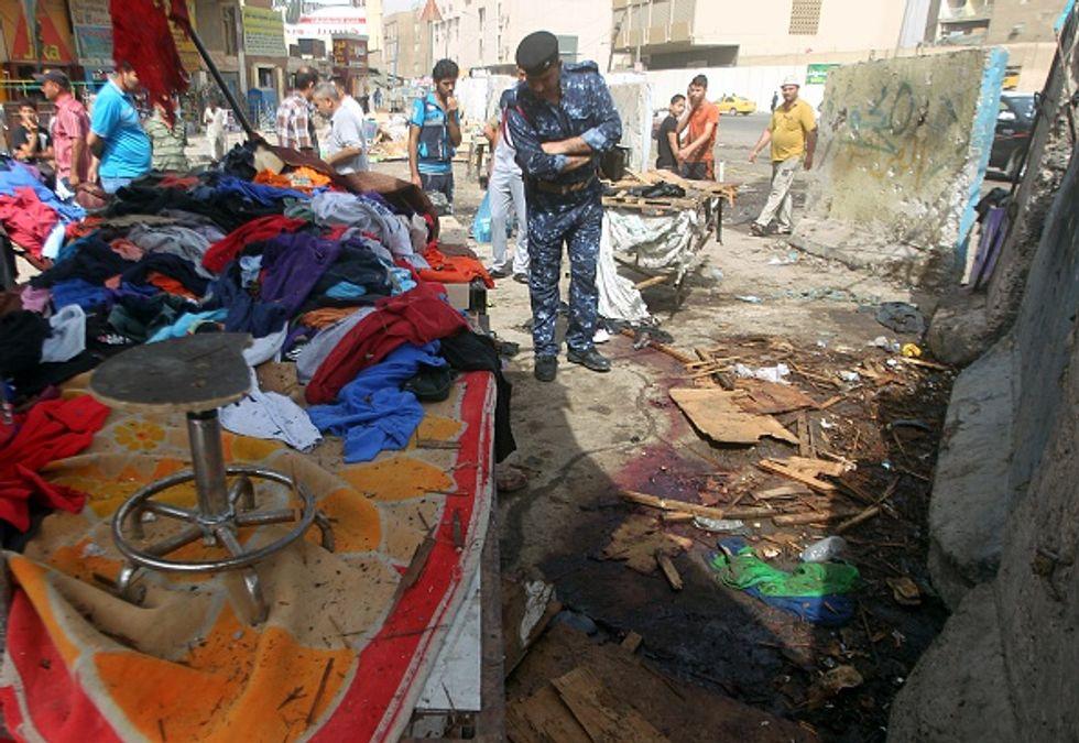 Baghdad: l'Isis rivendica la strage nel centro commerciale