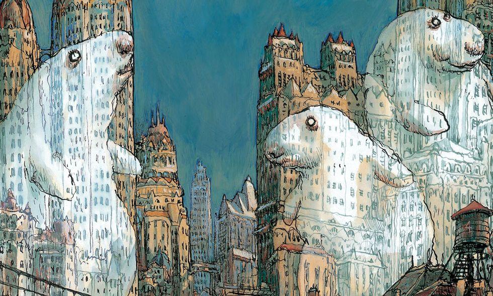 'Il celestiale bibendum' di Nicolas De Crécy