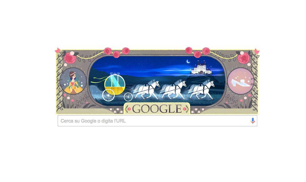 Google: un doodle per Charles Perrault
