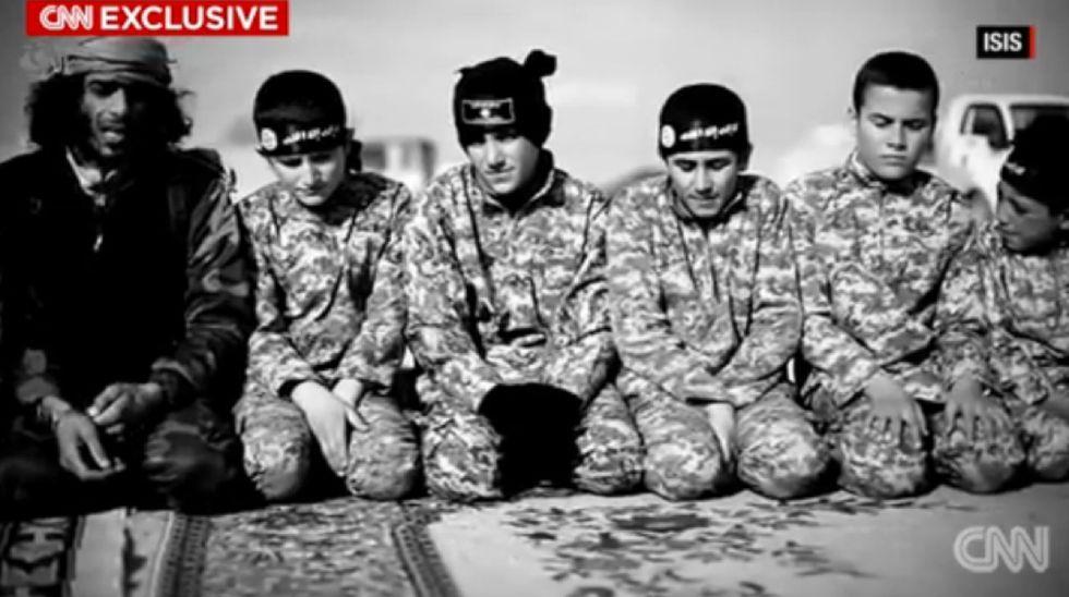 Isis-bambini