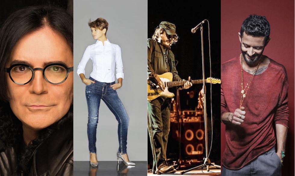 Renato Zero, Alessandra Amoroso, Zucchero e Nesli. Sono solo quattro dei tanti artisti che torneranno con un progetto live nel 2016