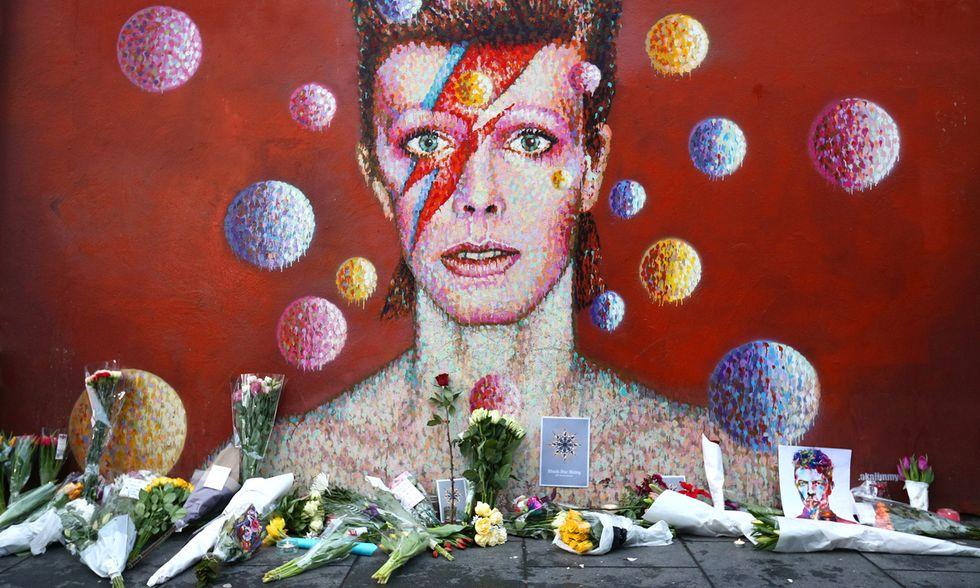 Fiori per David Bowie