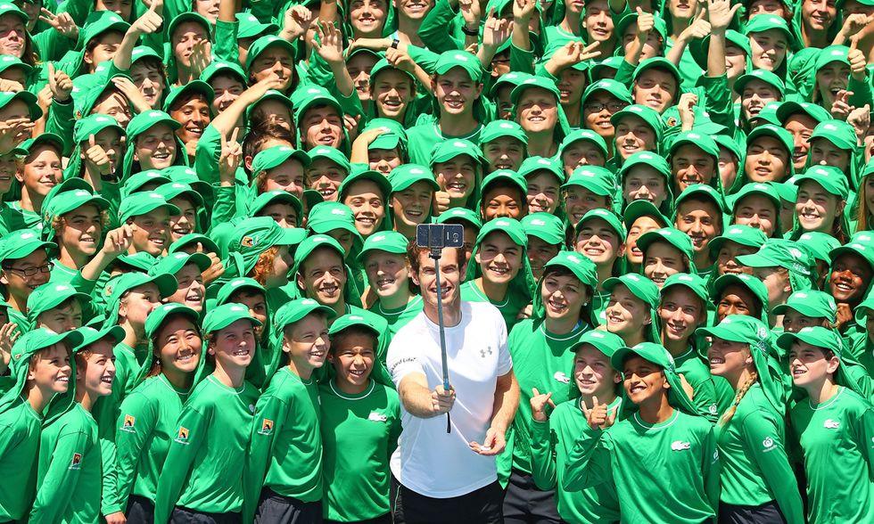 I raccattapalle dell'Australian Open