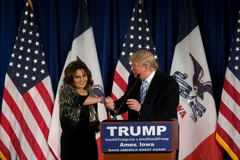 Primarie Usa 2016: Sarah Palin sceglie Donald Trup