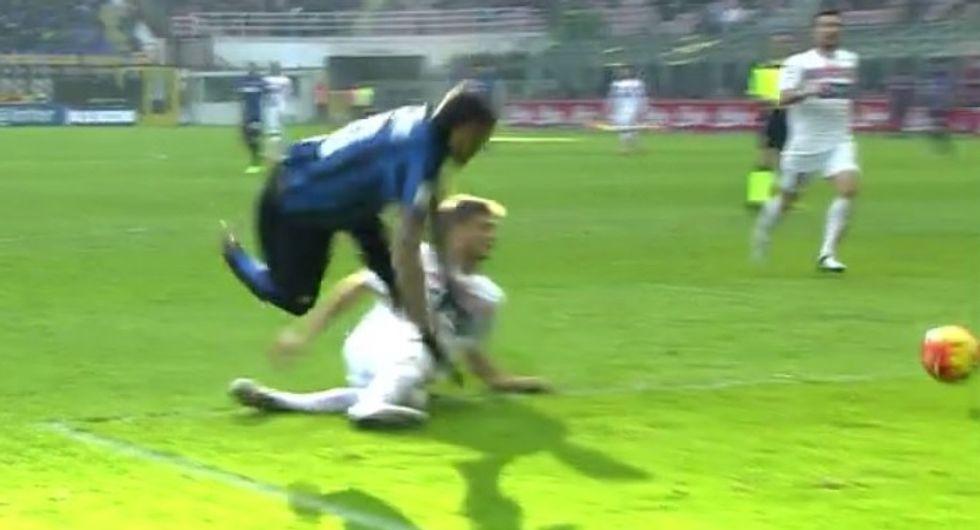 21a giornata - Polemiche ed errori in Carpi-Inter, manca un rigore a Icardi