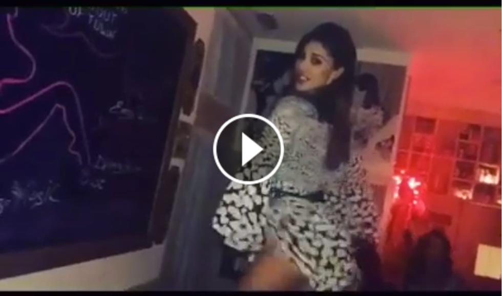 Il twerking di Belén Rodriguez