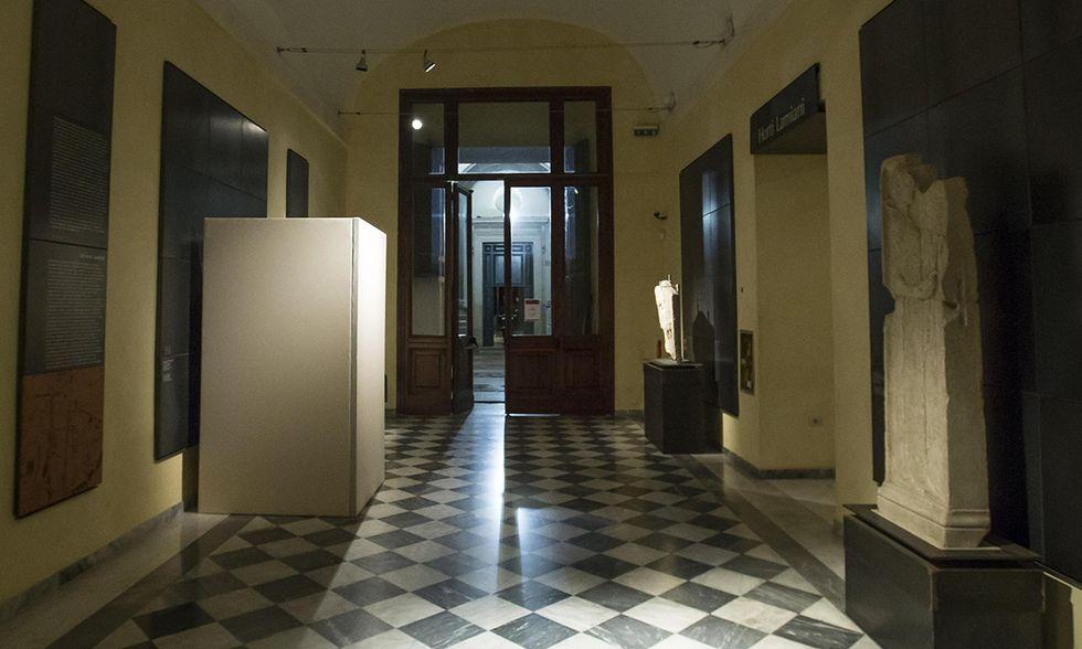 Rohani ai Musei capitolini: statue coperte