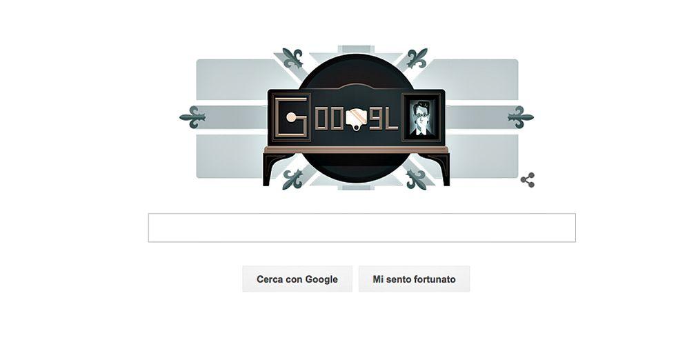 Google doodle per l'invenzione della televisione