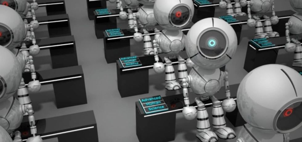 robot scuola