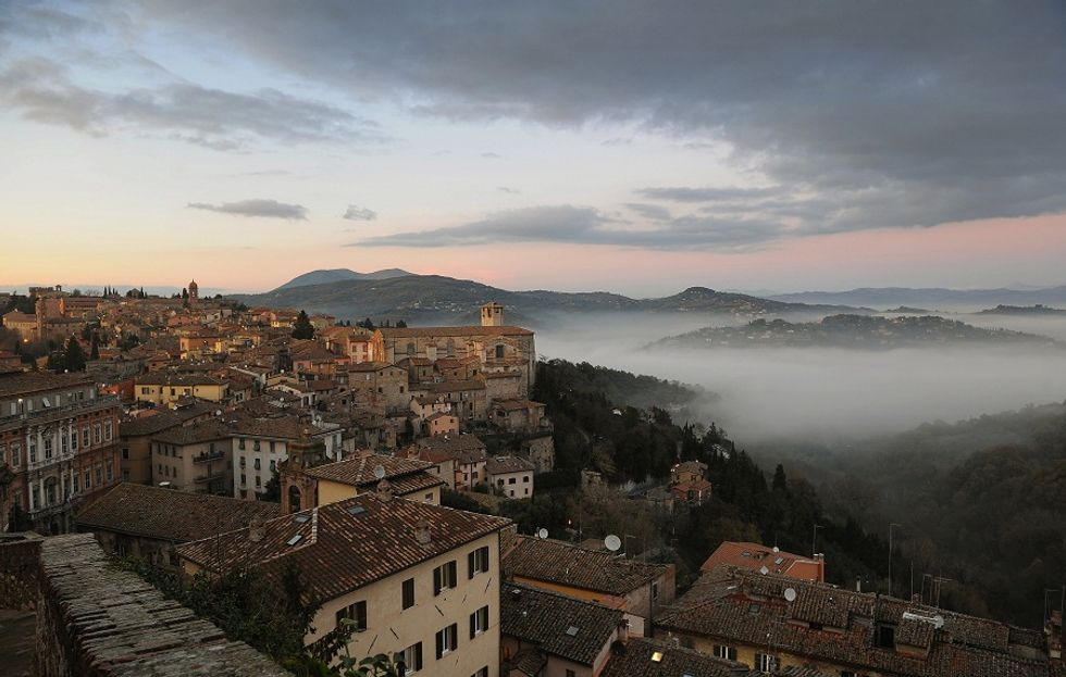 A spiritual experience in Umbria, Italy