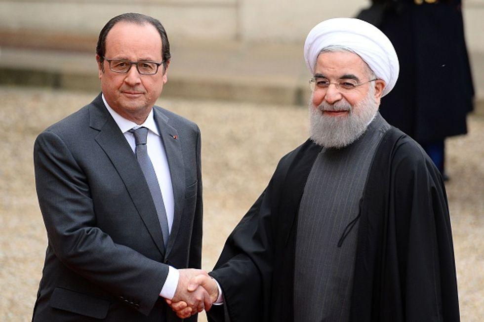 Rohani a Parigi: il provincialismo italiano, l'orgoglio francese